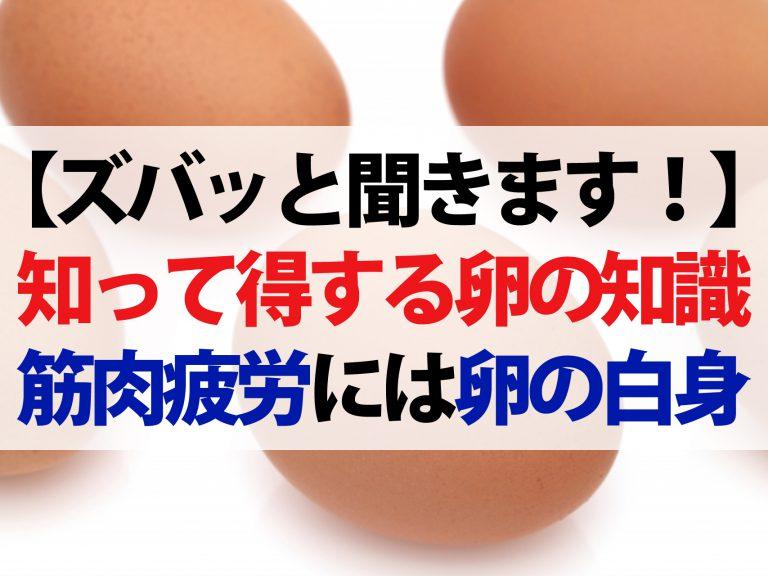 【梅沢富美男のズバッと聞きます!】知って得する卵の新常識!眠気覚ましにゆで卵