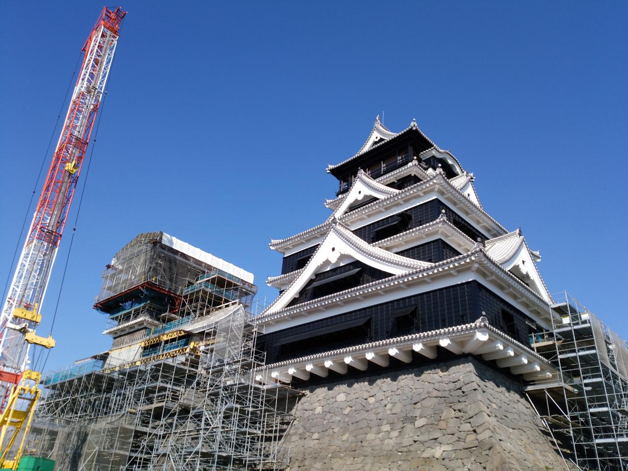 【熊本城特別公開】熊本地震から3年半ぶりに一般公開されたので撮影してきました
