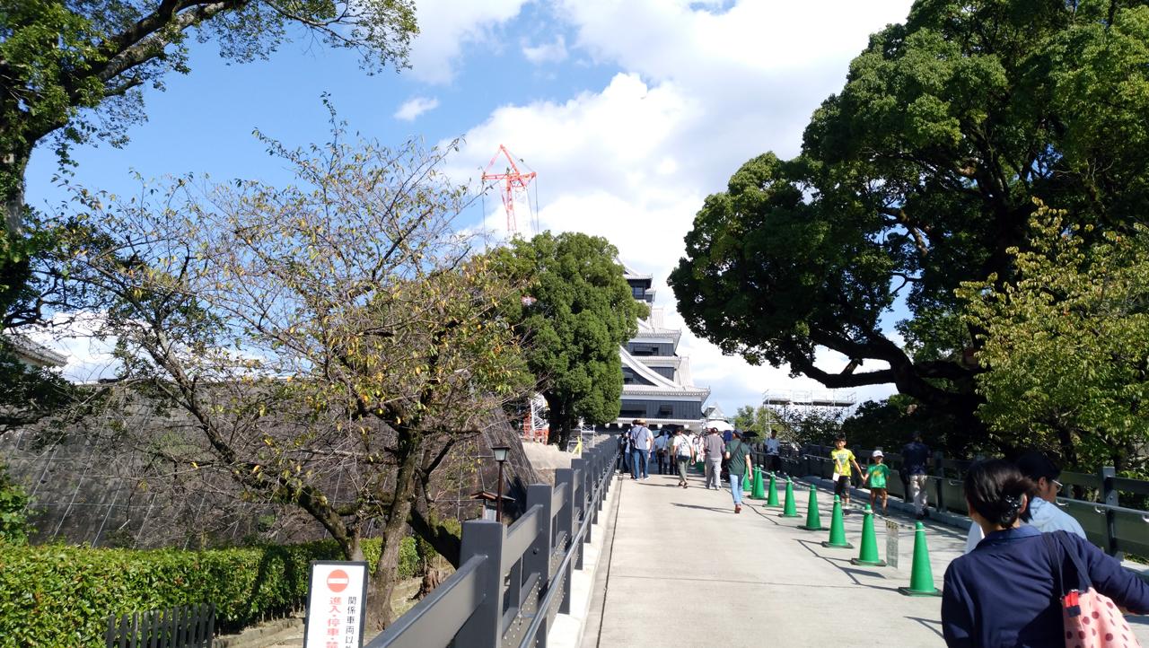熊本城の大天守が熊本地震から3年半ぶりに一般公開されたのでさっそく行ってきた