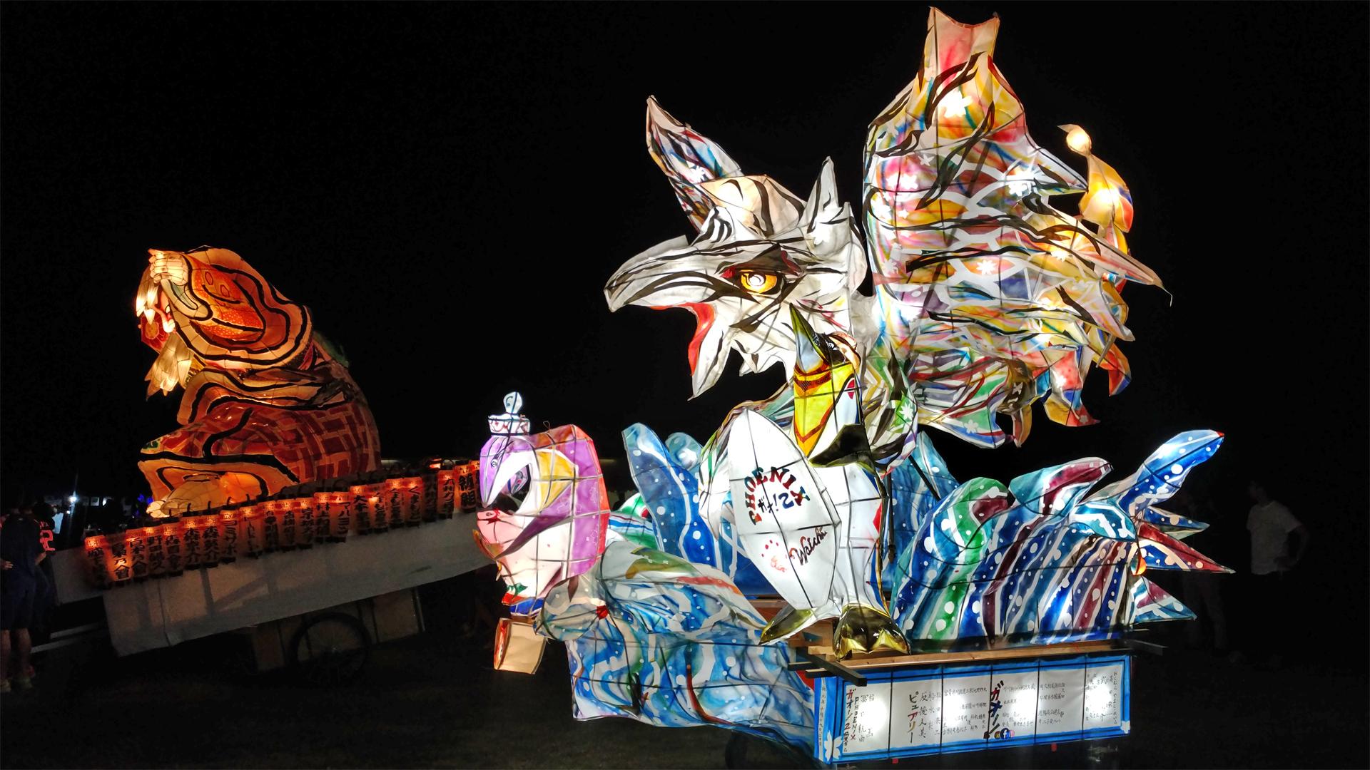 熊本復興ねぶた2019が開催されました!今年は熊本オリジナルのねぶたも登場