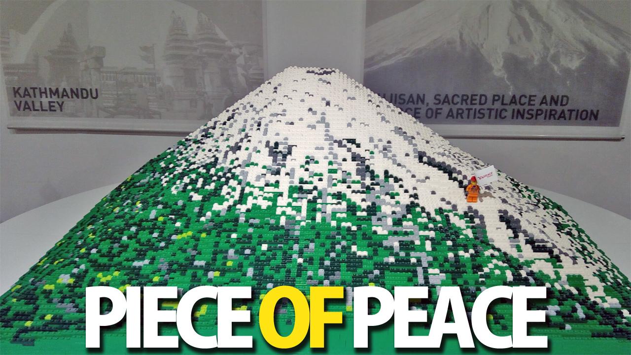 【サクラマチクマモト×熊本パルコ】『PIECE of PEACE』レゴブロックで作った世界遺産展