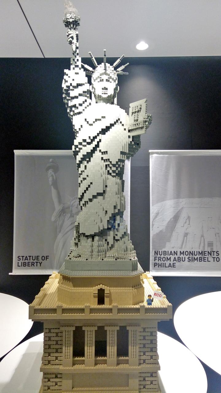 【サクラマチクマモト×パルコ】『PIECE of PEACE』レゴブロックで作った世界遺産展