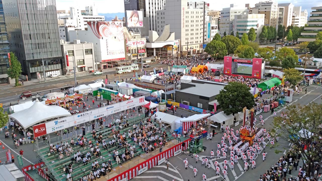 祭りアイランド九州