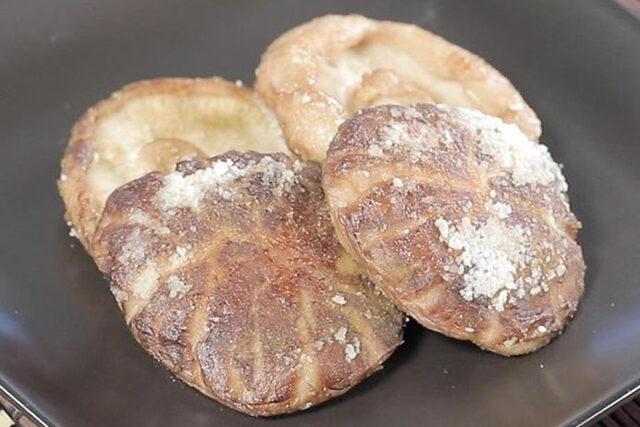 【ヒルナンデス】丸ごとしいたけステーキのレシピ|印度カリー子の100均スパイスレシピ