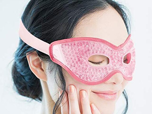 【ヒルナンデス】温冷アイマスク『アクアバブルビューティーアイマスク』を紹介|アイメイクをしたままで疲れ目を改善してくれる最新健康グッズ