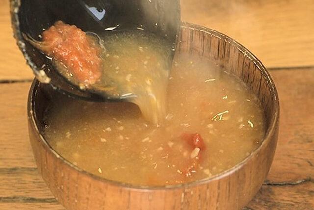 【家事ヤロウ】すりおろしトマトの味噌汁のレシピ|和田明日香さんが早炊き38分間で作る絶品おかず