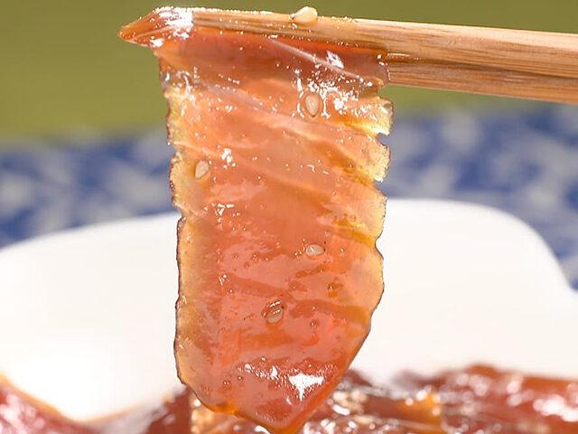 【家事ヤロウ】焼肉のたれ漬けマグロのレシピ|井ノ原快彦の焼肉のたれアレンジレシピ
