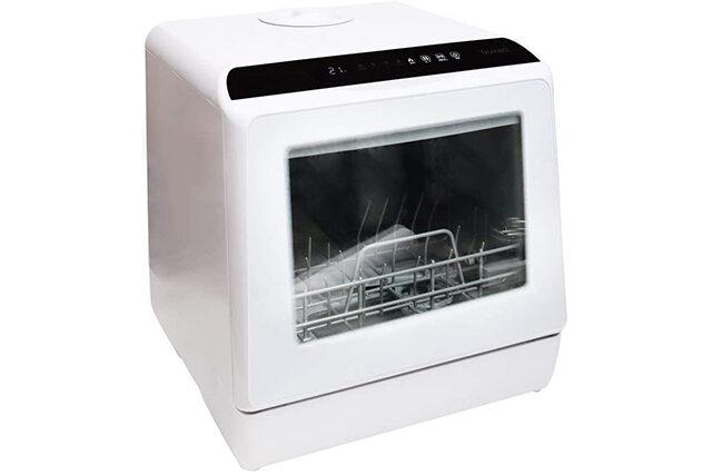 【所さんお届けモノです】食洗機『ラクア』を紹介|水道&工事いらずの節水家電