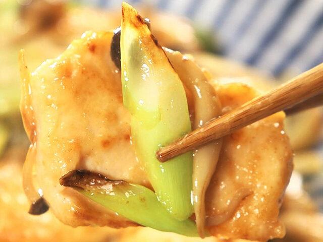 【家事ヤロウ】高橋みなみ『鶏肉の味噌マヨ炒め』のレシピ