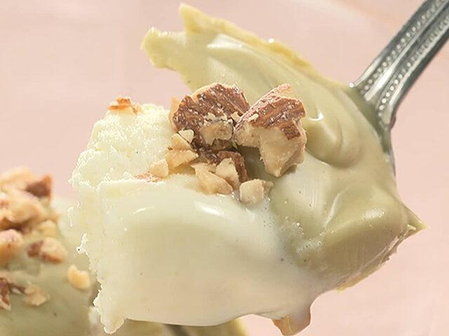 【家事ヤロウ】成城石井『ピスタチオスプレッド』の通販お取り寄せ アイスにかけるだけでワンランク上の味に