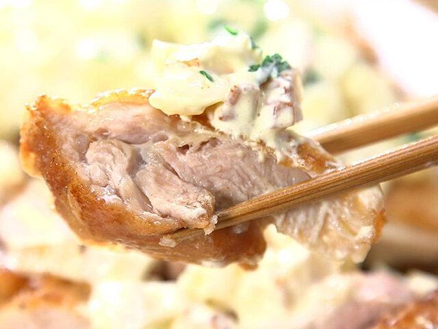【家事ヤロウ】和風タルタルソース&鶏肉の1枚唐揚げのレシピ 和田明日香さん料理お悩み解決レシピ