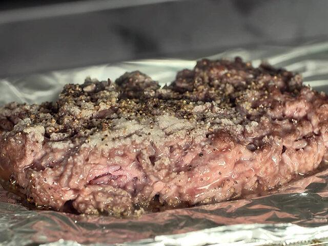 【家事ヤロウ】ひき肉の丸焼き(びっくりドンキー風)のレシピ|トースター丸焼きレシピ