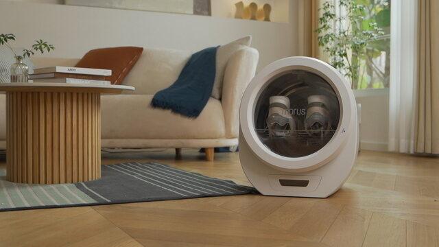 【所さんお届けモノです】超小型衣類乾燥機『Morus Zero(モルスゼロ)』を紹介|真空状態で水分を素早く蒸発させる
