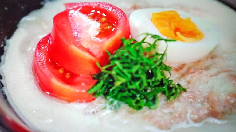 【ヒルナンデス】トマトとツナのミルクそうめんのレシピ ソーメン二郎が教えるそうめんアレンジレシピ