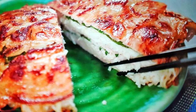 【ヒルナンデス】そうめんと豚肉のミルフィーユ仕立てのレシピ|ソーメン二郎が教える創作そうめんレシピ