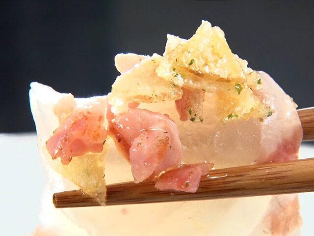 【家事ヤロウ】鯛とベーコンのカルパッチョのレシピ|ポンポコ団キングのフリースタイルキッチン3分クッキング