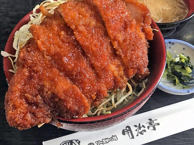 【せっかくグルメ】軽井沢ソースカツ丼(明治亭)の通販お取り寄せ 日村さん絶賛