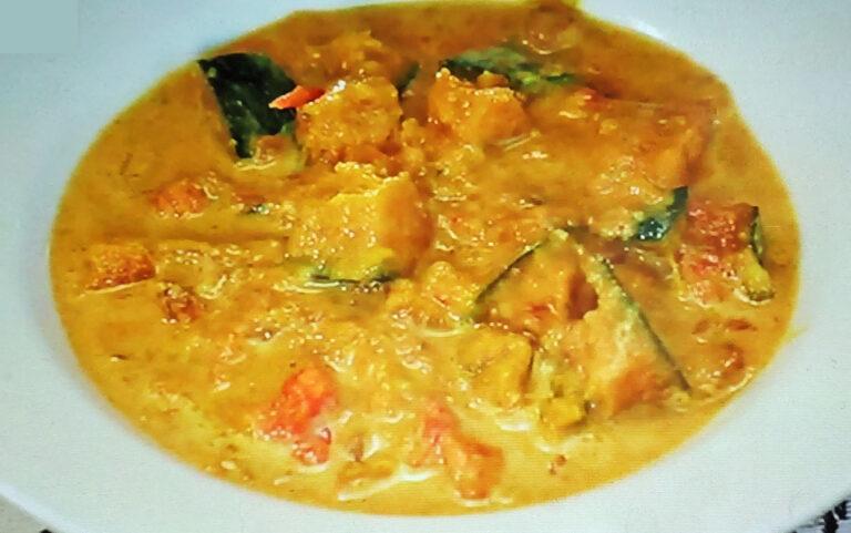 【ヒルナンデス】かぼちゃカレーのレシピ 印度カリー子のレンチンスパイスカレーレシピ