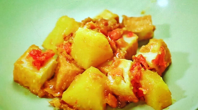 【ヒルナンデス】絹揚げ南国ハワイアンカレーのレシピ|印度カリー子のレンチンスパイスカレーレシピ