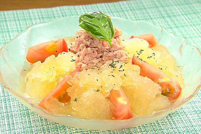【家事ヤロウ】コンソメ氷そうめんのレシピ|丸亀製麺の味を再現