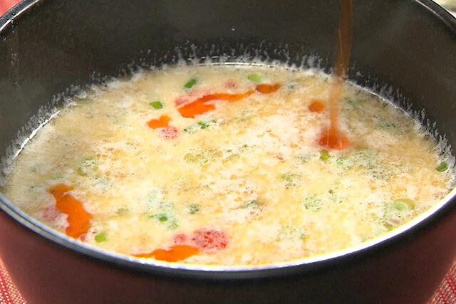 【家事ヤロウ】濃厚白湯風そうめんのレシピ|鶏白湯ラーメンの味を再現