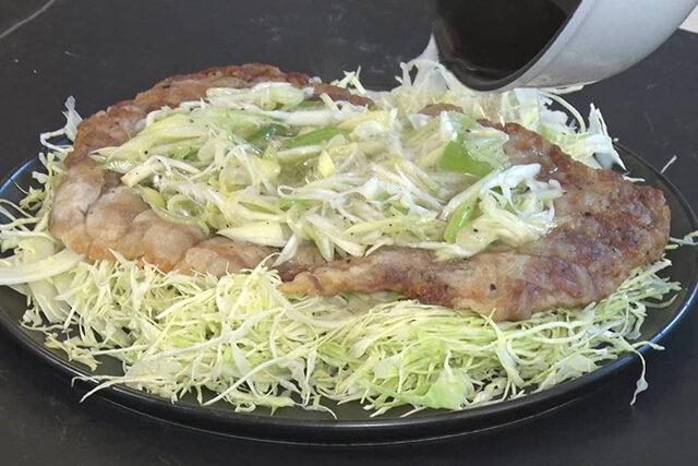 【家事ヤロウ】豚バラのカリカリ下敷きのレシピ 和田明日香さんが早炊き38分間で作る絶品おかず