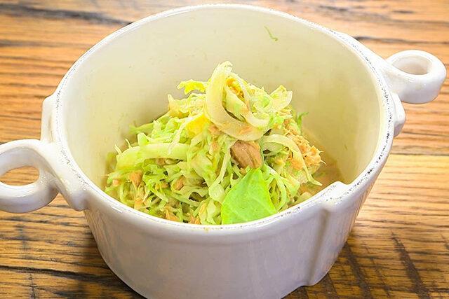 【家事ヤロウ】千切りキャベツのツナマヨポン酢のレシピ 和田明日香さんの簡単おつまみ