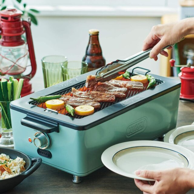 【ヒルナンデス】煙が出ない焼肉ロースター(グリルホットプレート)|家事えもんの秋家電