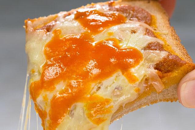 【家事ヤロウ】キムタク『特製ピザトースト』のレシピ|木村拓哉の自宅リアル飯