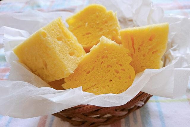 【ラヴィット】コーン蒸しパンのレシピ ギャル曽根さん考案ホットケーキミックス×コーンスープの素で作る