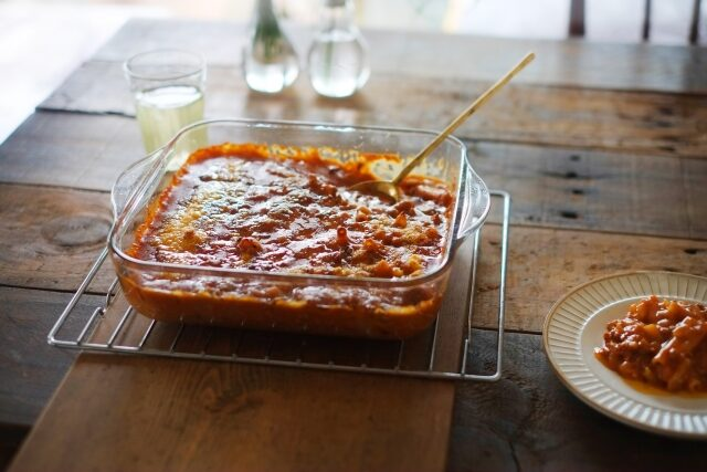 【ウワサのお客さま】レンチン万能ミートソースのレシピ|時短クイーン長田知恵さんの節約パーティー料理