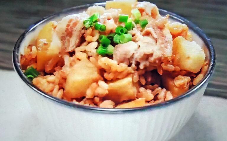 【相葉マナブ】豚de埼玉(とんでさいたま)釜飯のレシピ 釜-1グランプリNEO